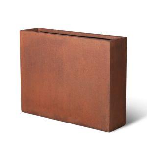 GRC Partition Planter -  Rust (L80 to 100cm)