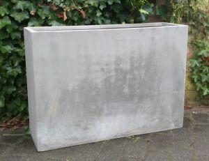 GRC Partition Planter - Cement Grey