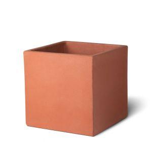 Terracotta Cube Pot