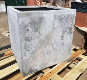 Weathered Cement Cube H60xD60xW60cm