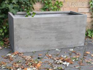Jay Trough Planter -  Cement Grey (L64 to 90cm)