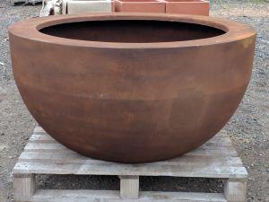 Designer Bowl Rust Dia110cm x H55cm