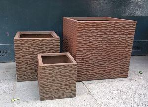 Rust Wavy Cube